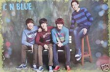 "CN BLUE ""GROUP SITTING TOGETHER WEARING SWEATSHIRTS"" POSTER - K-Pop Music"