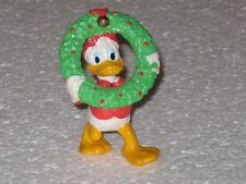 Disney Applause Donald Duck Christmas Wreath PVC Figure Figurine