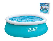 "Large 6' x 20""  Intex Easy Set Swimming Pool Paddling Pool Garden Pool Party"