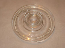 Vintage Pyrex Flameware 4-6 Cup Coffee Pot Glass Replacement Lid 7756-C H-17