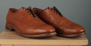 Men's Allen Edmonds Fairfax Dress Shoe sz 11 D Brown Leather Oxfords