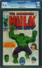 Incredible Hulk 116 CGC 9.6 -- 1969 -- Leader app