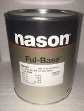 Super jet black Dupont/Nason ful base clearcoat