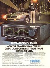 1978 vintage AD Sparkomatic AcoustaTrac CAR  High Fidelity Sound System 061117
