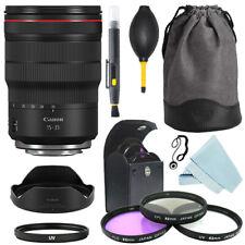 Canon RF 15-35mm f/2.8L IS USM Lente + Kit de Filtro + Kit de Accesorios