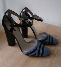 GIORGIO ARMANI Gorgeous Genuine Leather High Heel sandals/UK 7/EU 40 RRP £550