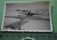 tolles altes Foto - Feldflugplatz 1939-40  drei Junkers Ju52 eine  Donier Do17