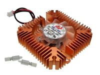 55mm heatsink With Fan Cooler for PC VGA Graphics Card  55x55x12mm Heat Sink