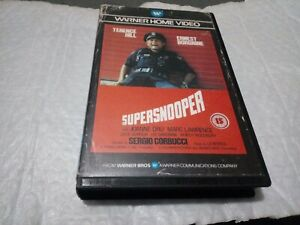 Suppersnooper pre cert ex rental. VHS Please see discription