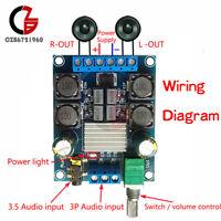 TPA3116 D2 50W+50W 50Wx2 Dual Channel DC4.5-27V Power Amplifier Board Stereo