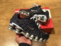 NIKE SHOX TL OBSISIAN SILVER MENS TRAINERS SHOES SIZE UK6 EUR40 US7
