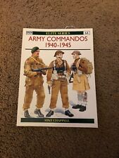 Osprey Elite #64 Army Commandos 1940-1945 Publishing British Guide
