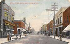 Ironwood MI Sossen & Drier Walgreen's Drug Store~Beaux Arts Stone Bldg 1913 PC