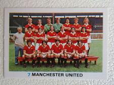 FKS Soccer Stars 1977-1978 Football Sticker Variants (ef3)