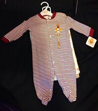 "Boys ""Gobble"" Infant One Piece With Plush Blanket 3 To 6 Months"