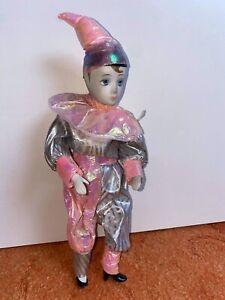 Porcelain Pierrot Clown Doll (1)