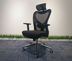 Home Office Chair Computer Desk Gaming Chair Ergonomic Support Black Sheet