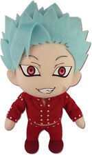 "NEW Great Eastern GE-52215 The Seven Deadly Sins 9"" Ban Stuffed Plush Doll"