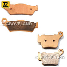 FRONT REAR Sintered Brake Pads for KTM EXC 450 (4T) 2004-2005 2006 2007 2008