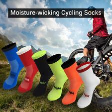 1/5/10Pair Cycling Socks Mens Womens MTB Road Bike Sport Socks Size 7-12 K9W9