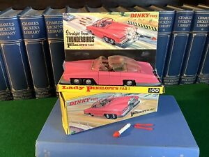 Dinky Toys Lady Penelope's FAB 1. No.100