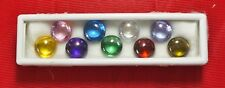 Powerful Nok Phra Gow 9 Colors Lucky Gems Naga Eye  Crystal Real Thai Amulet#R15