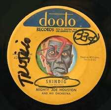 HEAR Mighty Joe Houston 45 Shindig/Cucaracha Rock DOOTO tittyshaker sax R&B inst