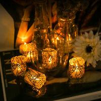24Pcs Wedding Party Tea Light Holder Paper Lanterns Votive Candle Holders