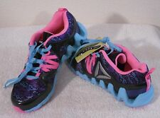 NEW Reebok Zig Big N' Fast Fire GR Grade School Girls Shoes 7 Multi MSRP$70