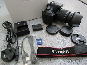 Canon EOS 1300D 18.0MP Digital SLR Camera + EF-S 18-55mm MACRO Zoom Lens