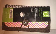 Studio C 13 Hot Chocolate Pocket Expandable Coupon Holder Zig Zag  Design