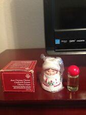 Avon Christmas Charmer Candlestick Decanter - Odyssey cologne - 1981