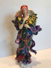 Lenox Jennifer Angel of Glory Figurine Pencil Resin 2002 Annual Collectible