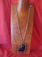 Uno de 50  purple heart necklace   Free shipping