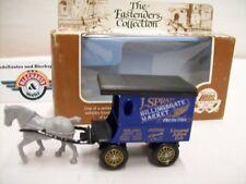 """Lledo, Horse Drawn Delivery Van """"J.SPRATT""""1900, DarkBlue, Lledo Days Gone 1:76"""