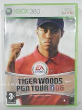 jeu TIGER WOODS PGA TOUR 06 pour XBOX 360 francais sport golf 2006 COMPLET X360