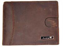 Aukra Accessories Genuine Leather Slim Bifold Wallet with Money Clip & EasyTab