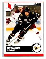 (HCW) 2010-11 Score Glossy #178 Brandon Segal Stars Mint