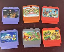 Vintage Vetch Lot Of 6 Games Cartriges
