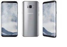 Samsung Galaxy S8 G950U G950U1 Silver GSM Unlocked AT&T T-Mobile Cricket Good