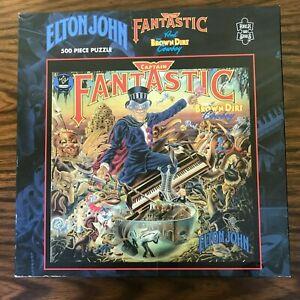 ELTON JOHN Jigsaw Puzzle 500 Pieces Captain Fantastic 410mm x 410mm