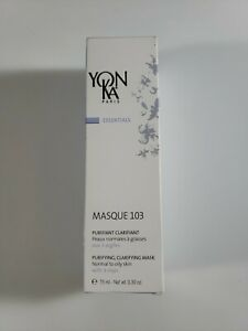 Yonka Masque 103 Purifying Clarifying Mask - 75 ml 3.30 oz New & SEAL EXP 1/21