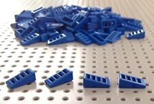 Lego Blue 1x2x2/3 Slope Grille Brick (18863 / 61409) x20 in a set *BRAND NEW*