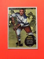 Albert Langois 1961-62 Topps #46  Vintage Hockey Card
