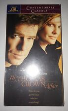 The Thomas Crown Affair (VHS, 2000)(Action) Pierce Brosnan, NEW and SEALED!