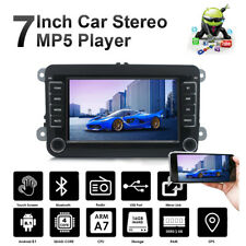 """7"""" Car Stereo Bluetooth Android 8.1 GPS Double DIN For VW GOLF 5 V PASSAT Caddy"""