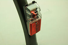 FOLDING BIKE REAR MUDGUARD FITTING LED BATTERY CYCLE LIGHT SALE OVER 50% OFF RRP