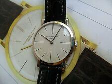 Solid 18k White Gold Vintage 1970's Lady's Audermars Piguet Swiss Watch 4 REPAIR