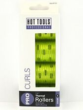 """Hot Tools Pro Curls 1 1/4"""" Thermal Rollers 4 ct yellow"""