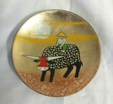 Mini Hand-painted Decorative Mini Wood Dish Tray Made in Vietnam